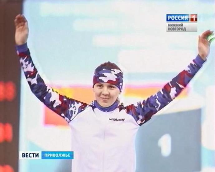 Нижегородская конькобежка Дарья Качанова установила рекорд РФ
