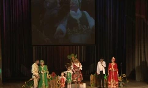 Семья Нуртдиновых изБашкирии благополучно выступила нафестивале Приволжья