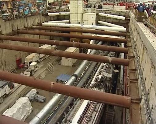 Вконце весны 2018-ого вНижнем Новгороде откроют станцию метро «Стрелка»
