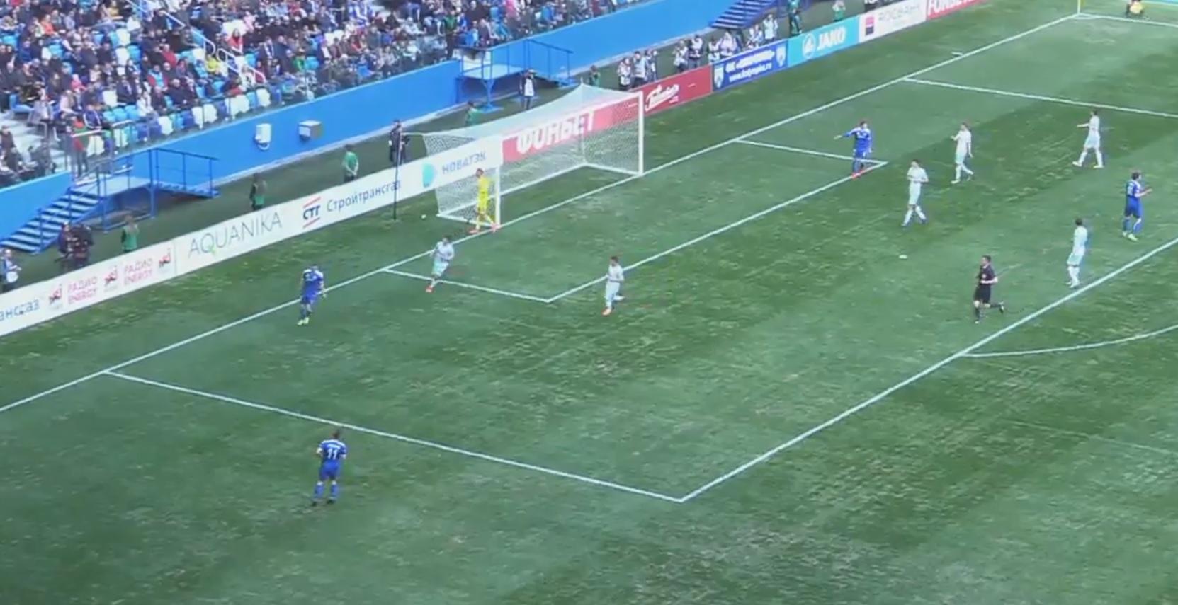 ФК «Олимпиец» проиграл свой 1-ый  матч настадионе «Нижний Новгород»