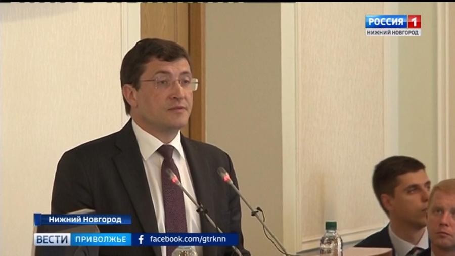 Глеб Никитин пообещал увольнять тех, кто допустит срыв сроков реализации нацпроектов